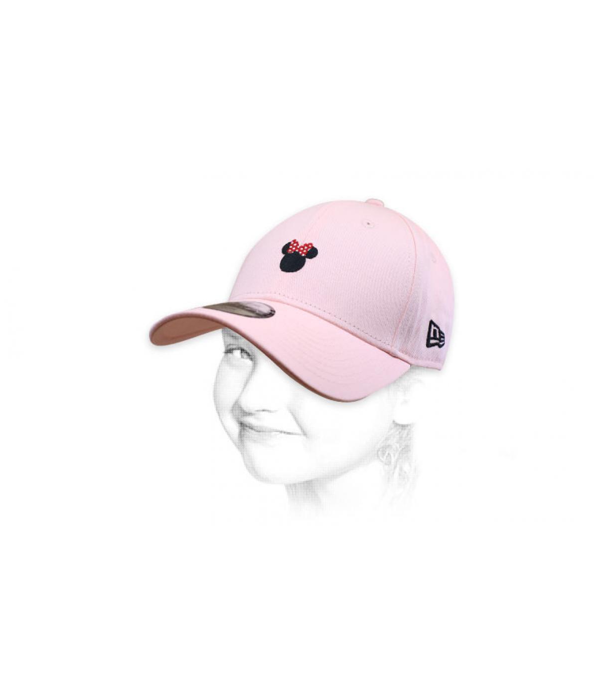 meisje roze minnie cap