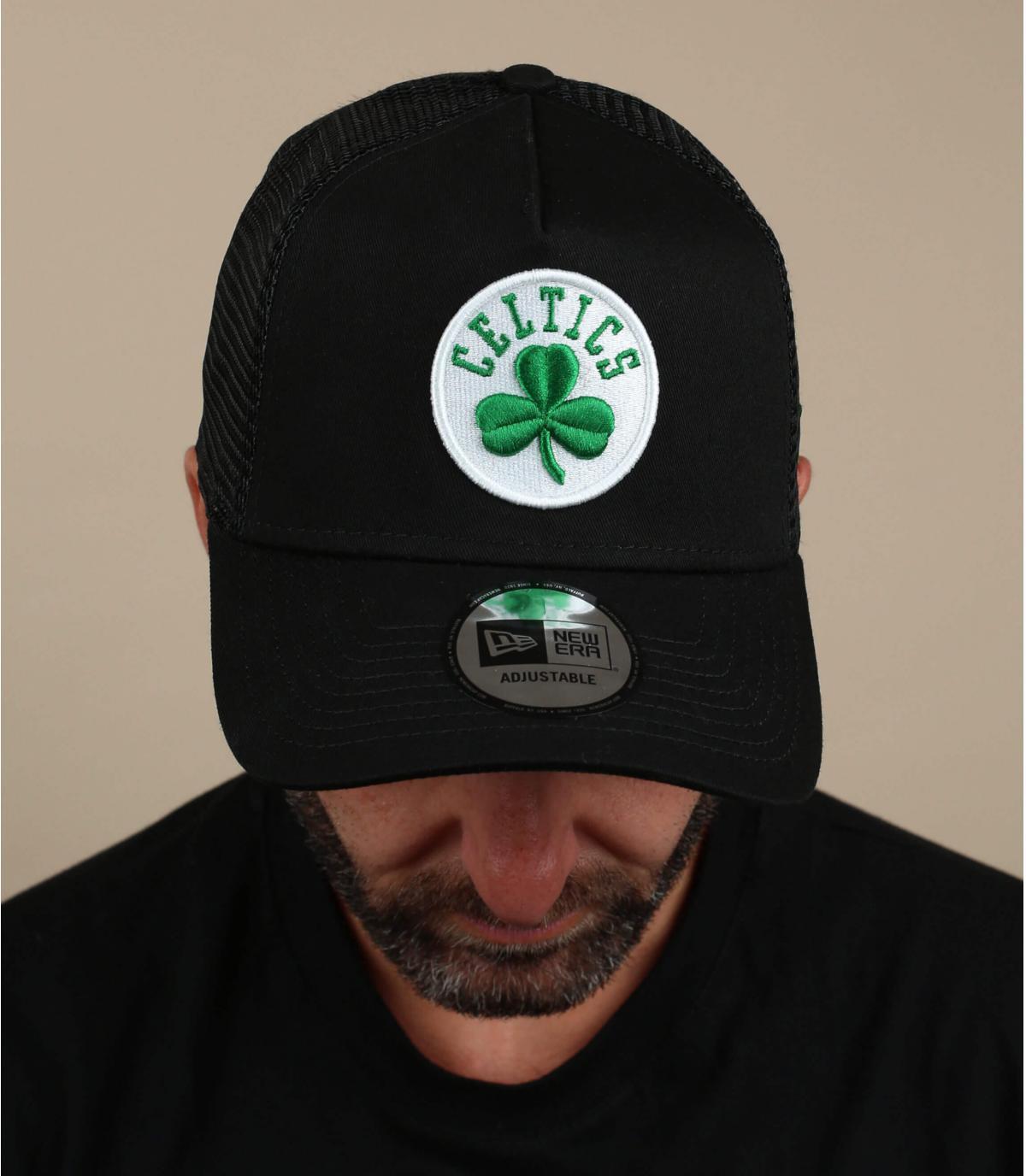 zwarte Celtics trucker
