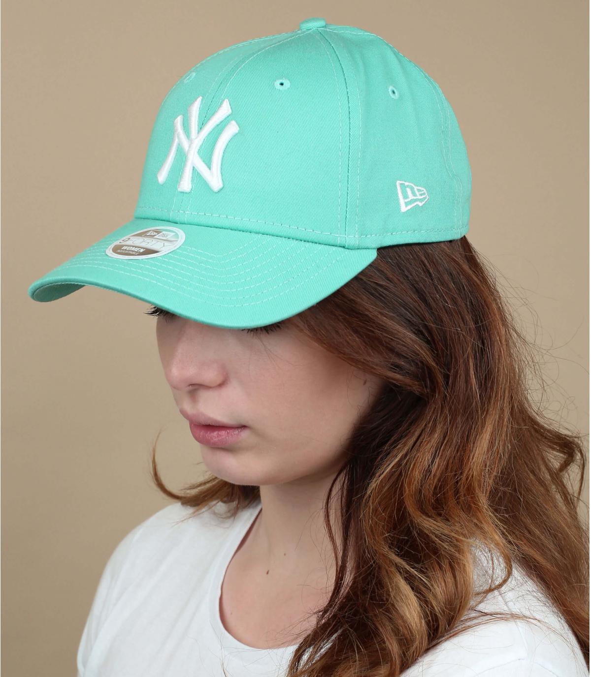 NY cap van groene dames