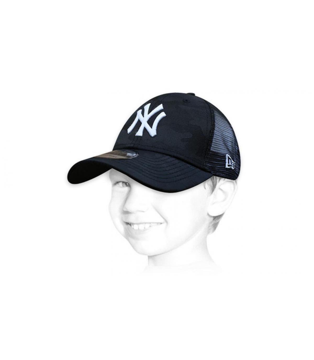 NY zwarte kinder trucker