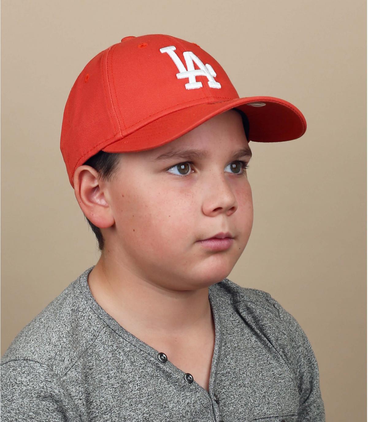 kinderpet LA rood