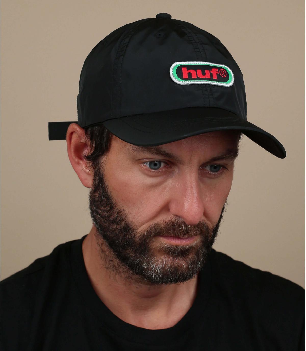 Huf zwarte retro cap