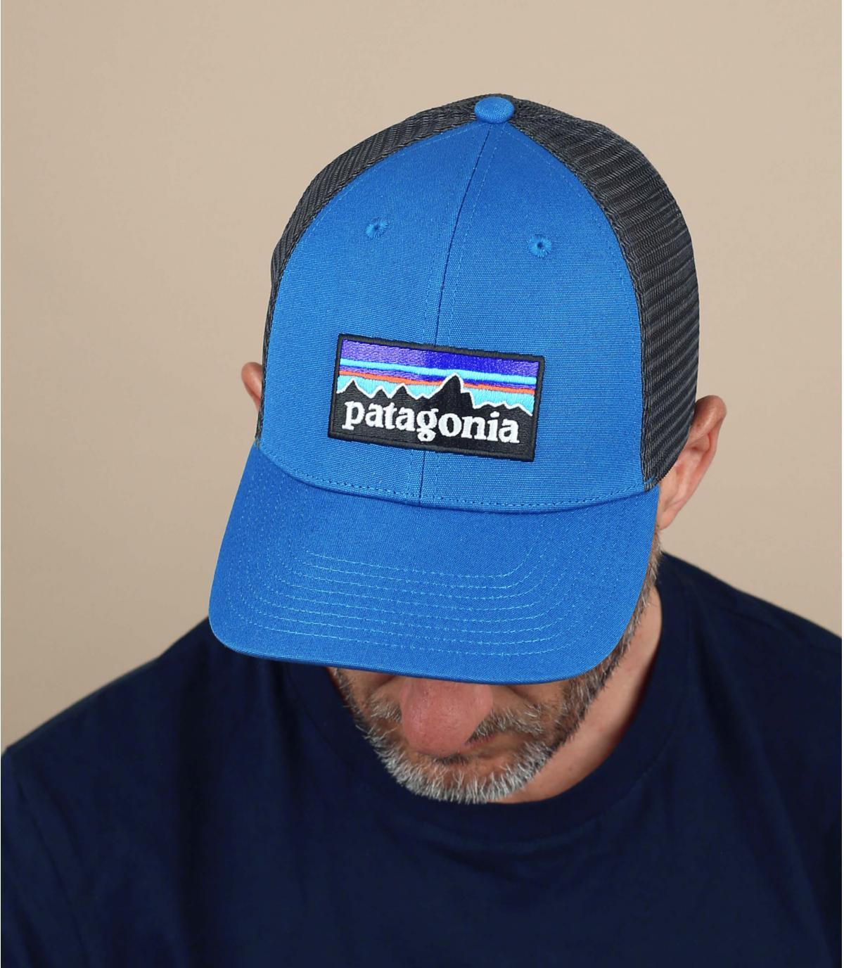 blauwe Patagonië trucker
