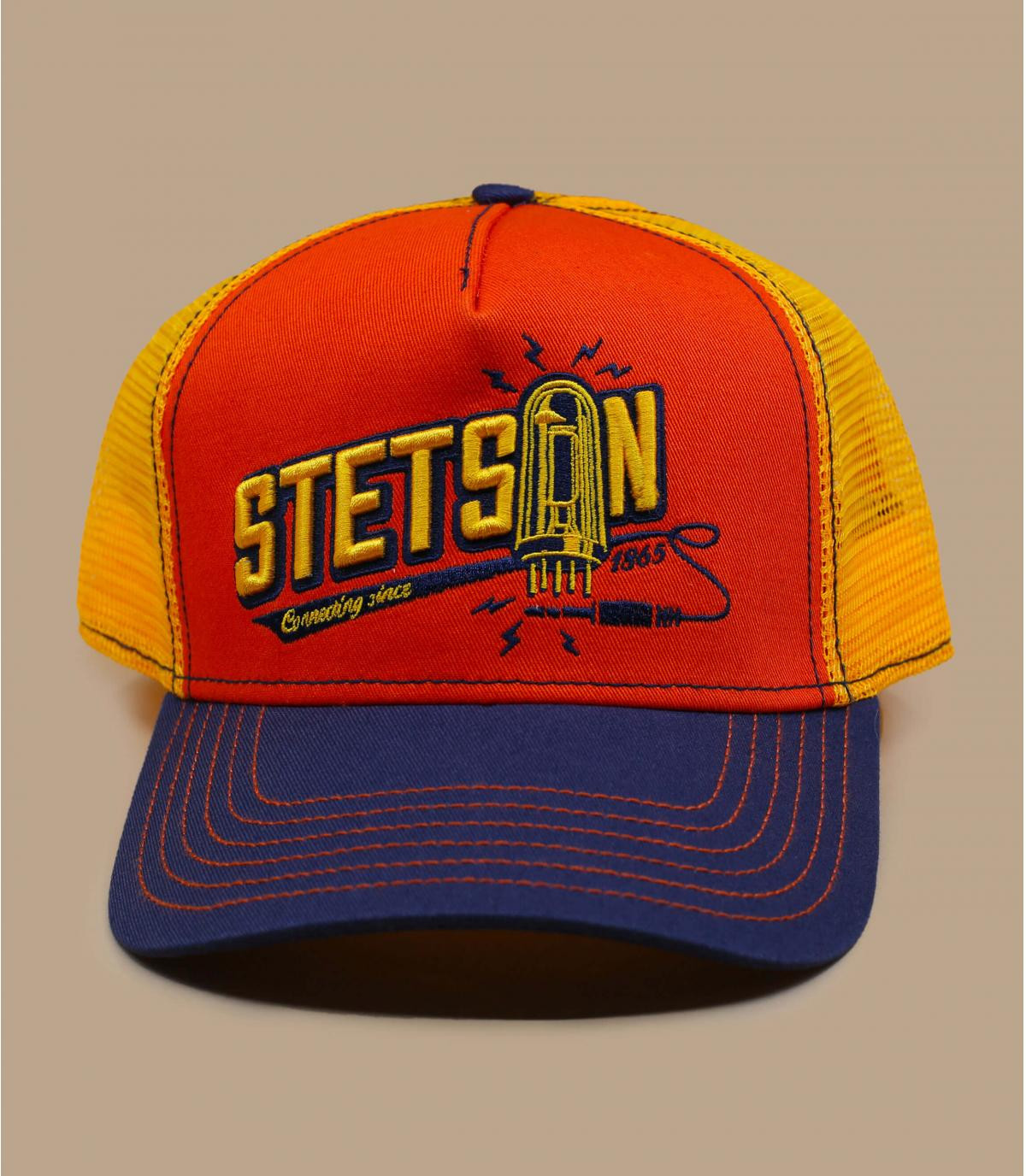 oranje Stetson trucker