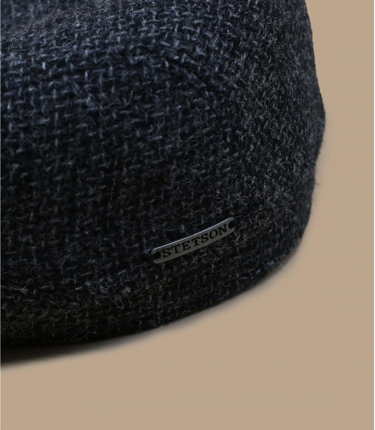 Shetland wol grijze baret