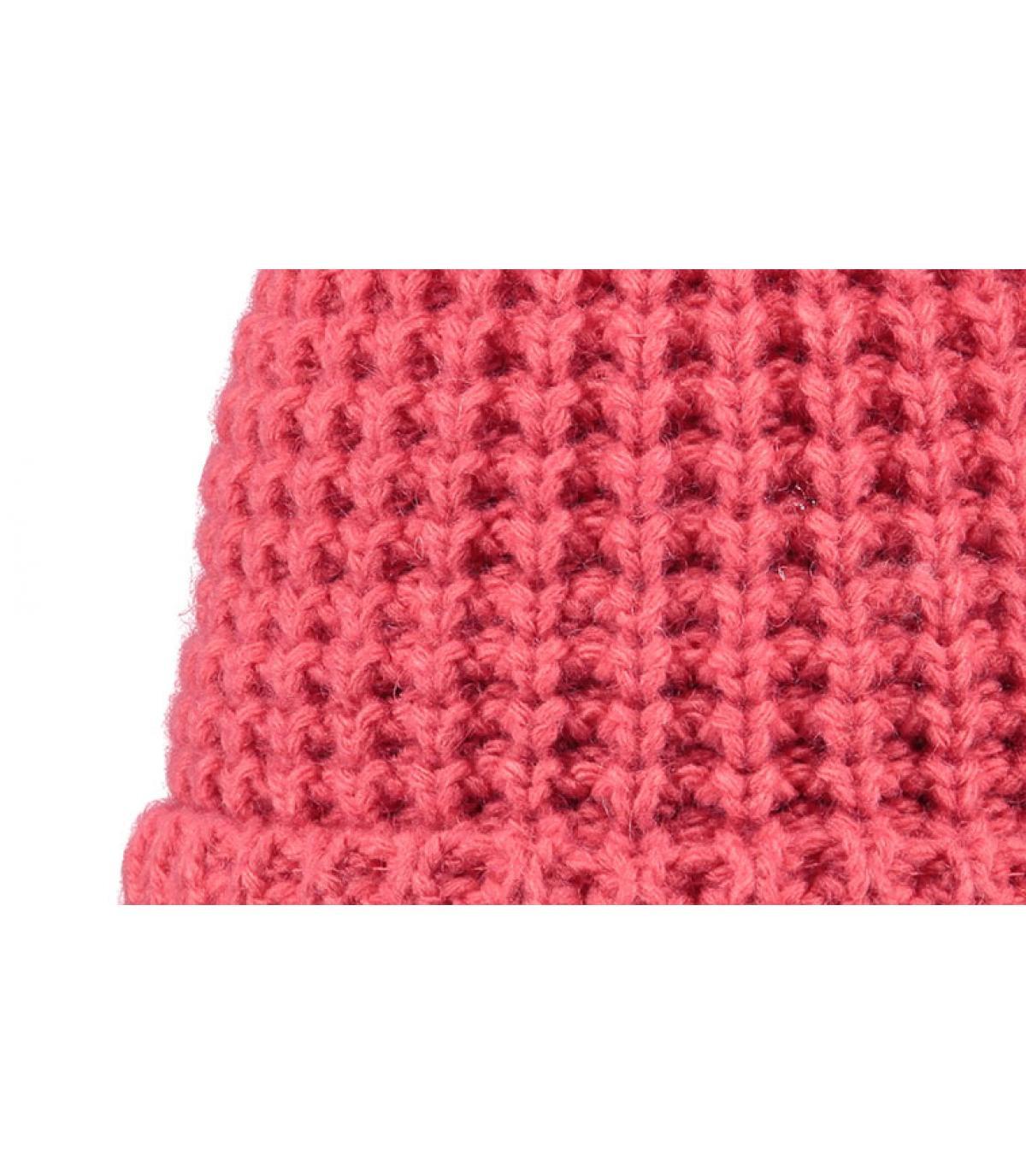 Details Bonnie muts roze - afbeeling 2