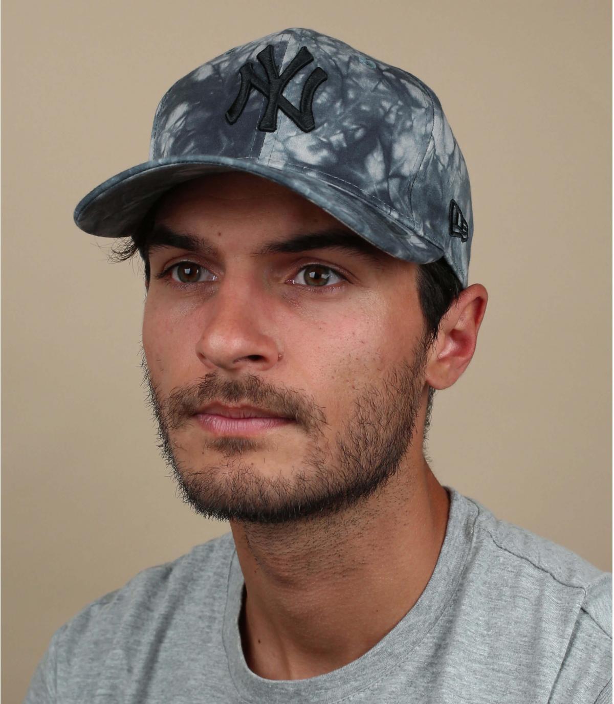 NY tie dye cap