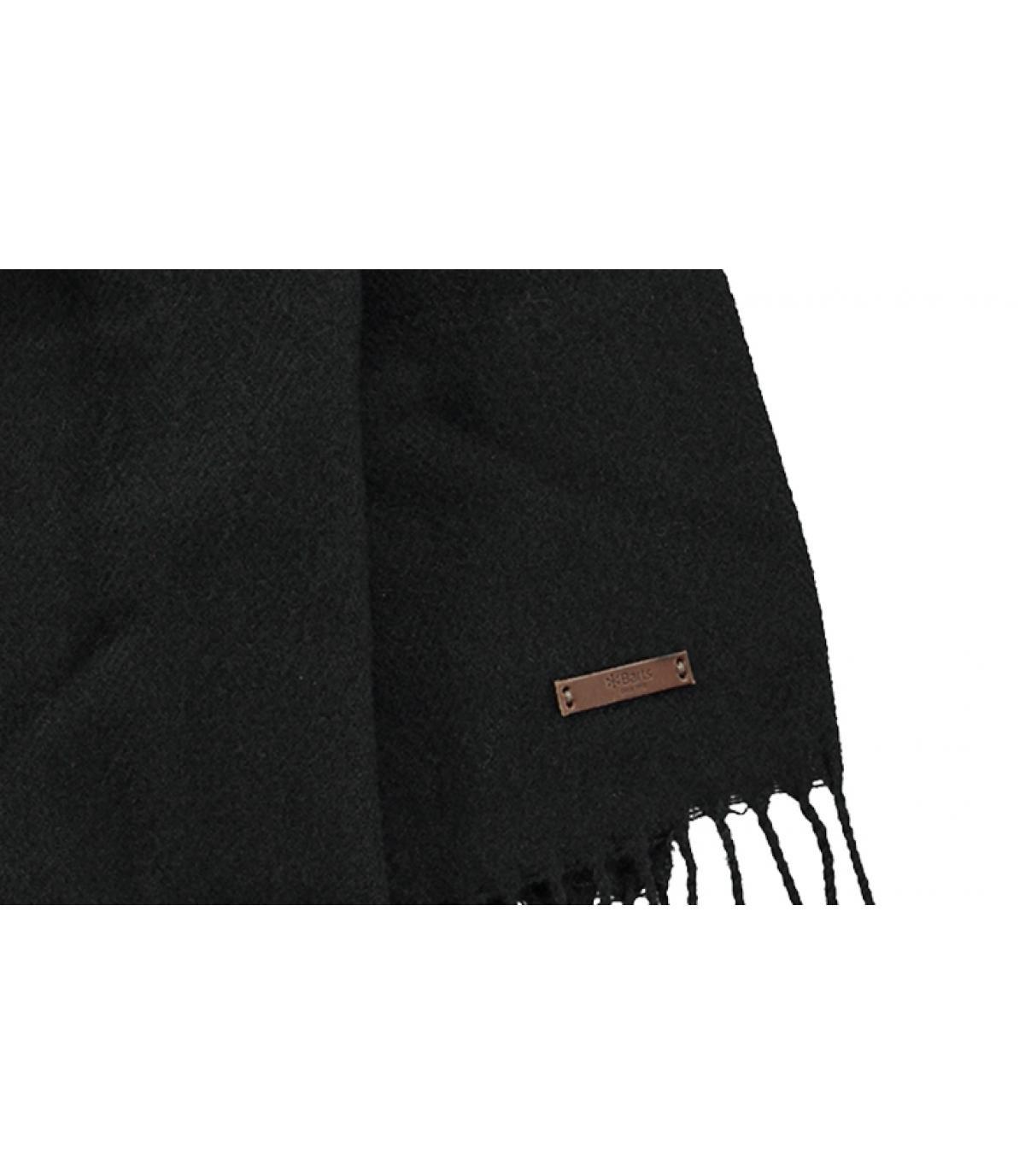 Details Soho sjaal zwart - afbeeling 2