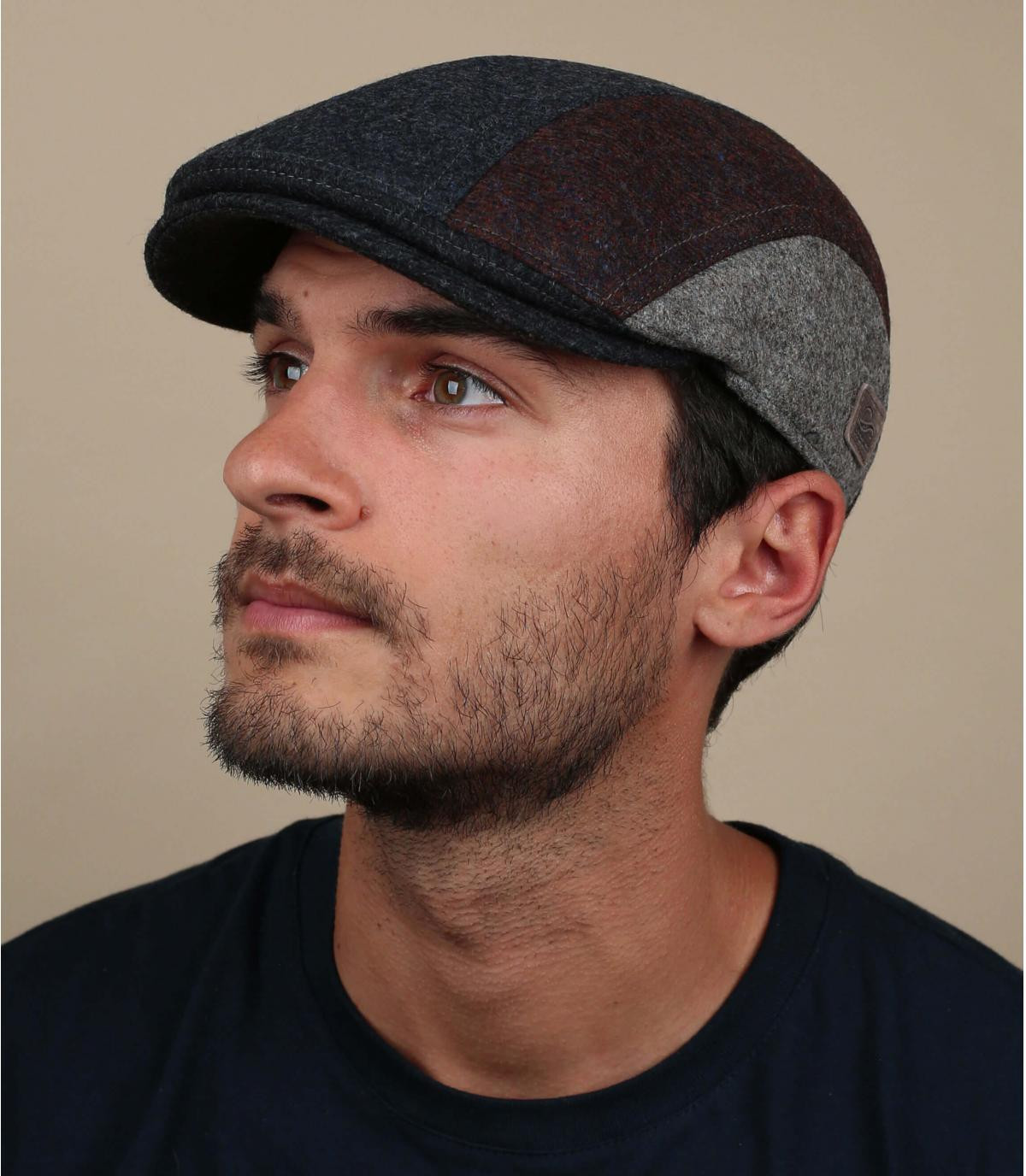 blauwe wollen oorbescherming