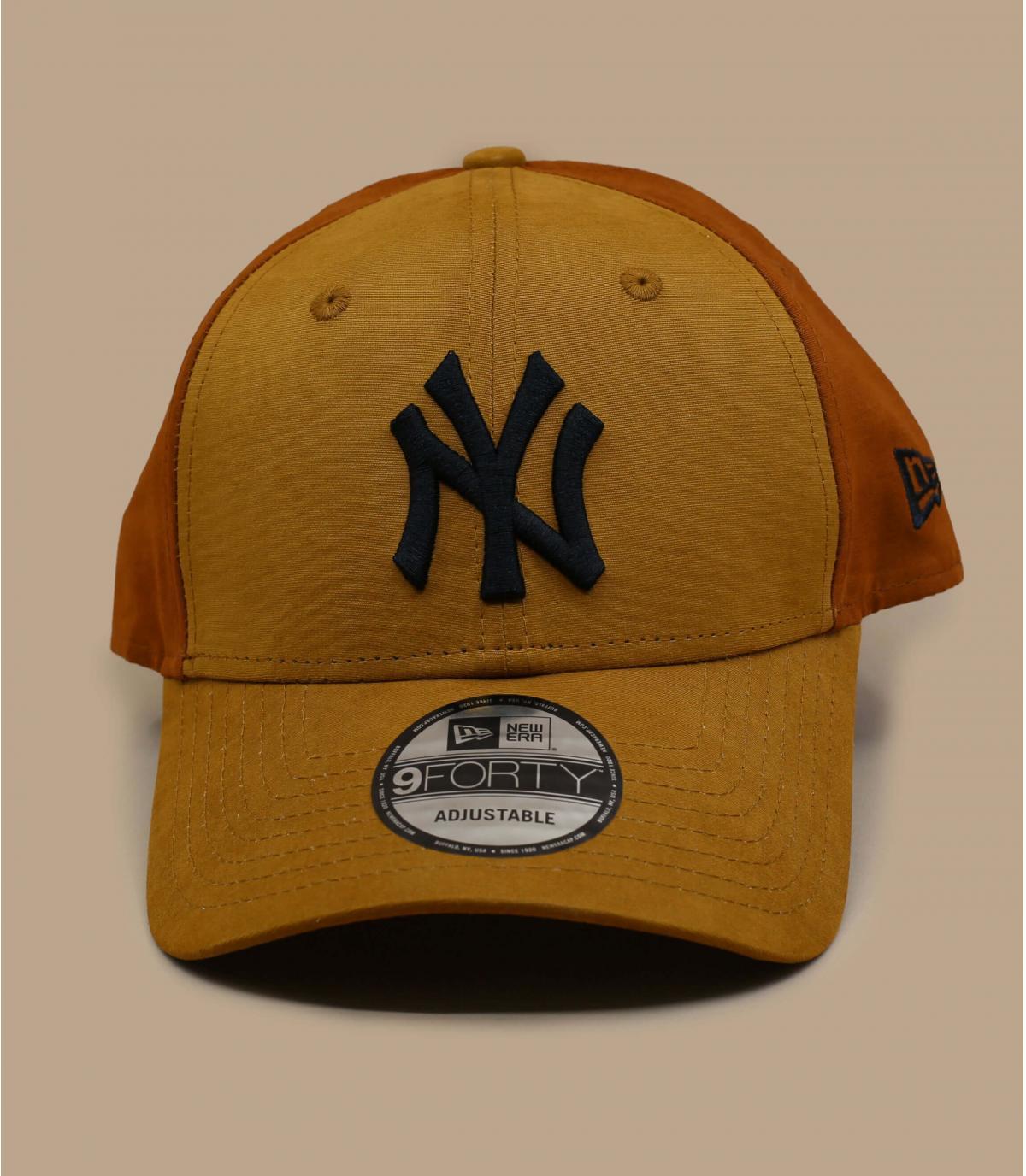 beige bruine NY cap