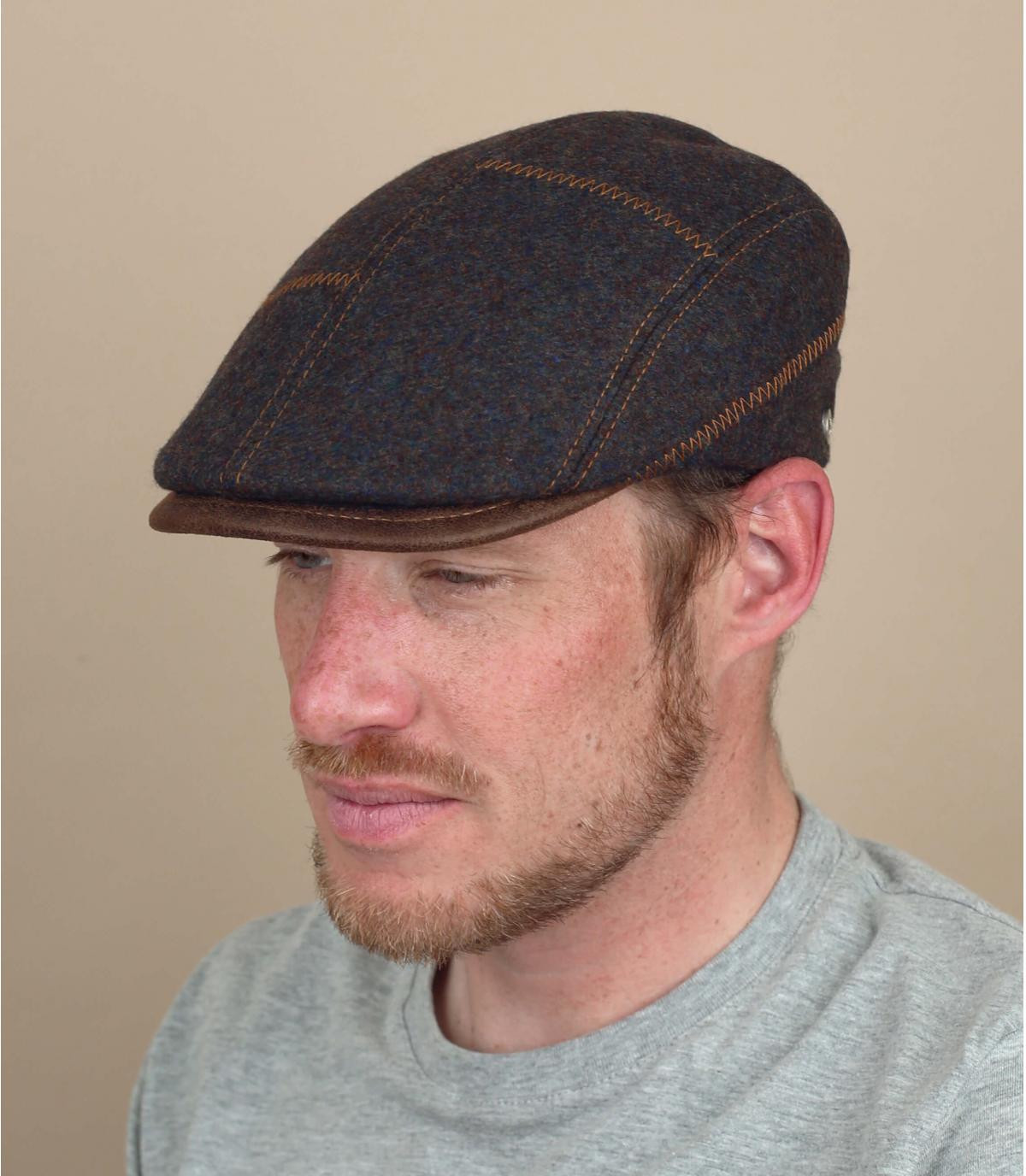 wol bruine baret