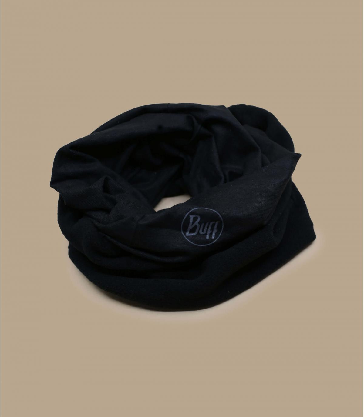 Buff fleece zwart