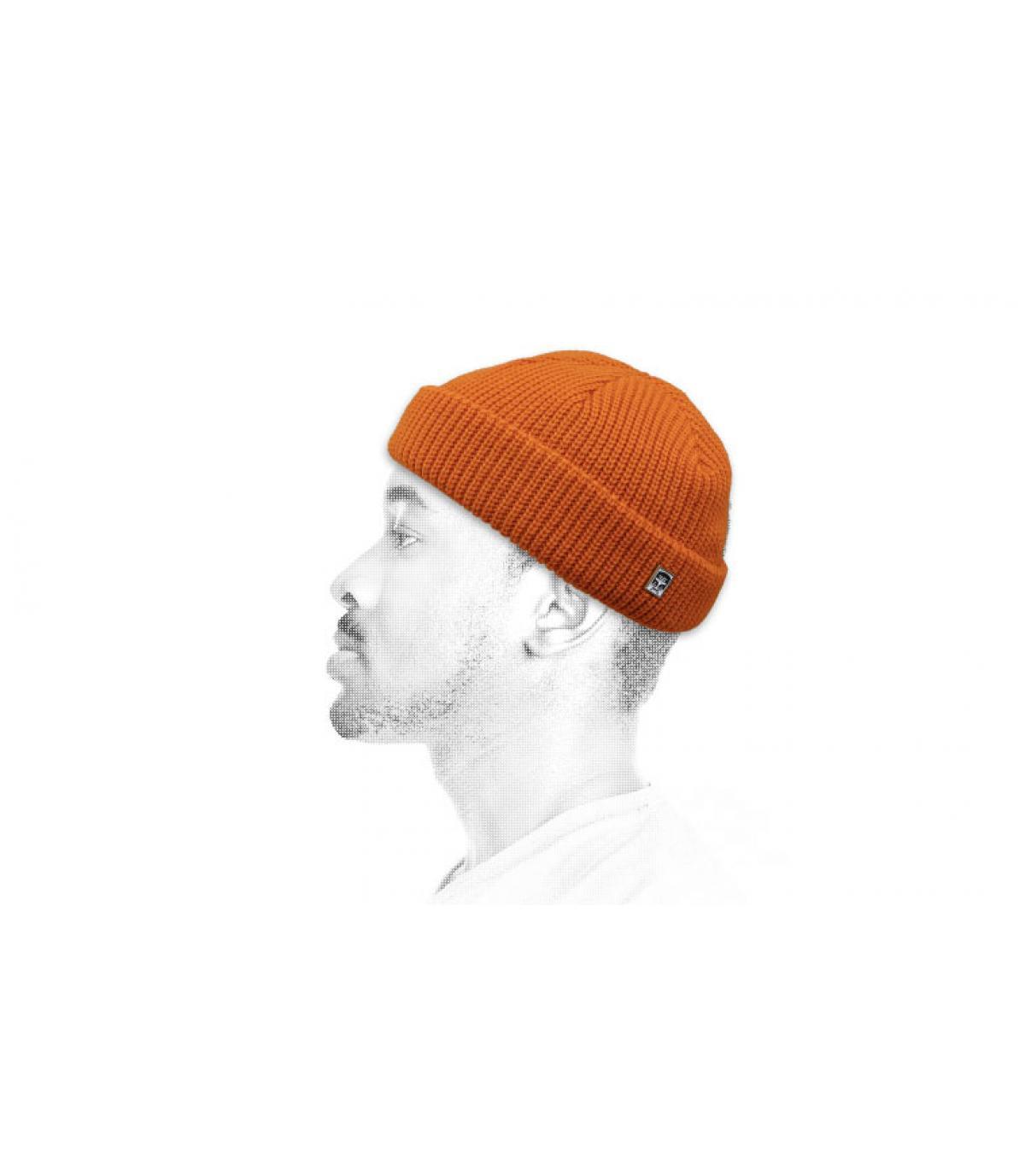 Obey oranje docker hoed