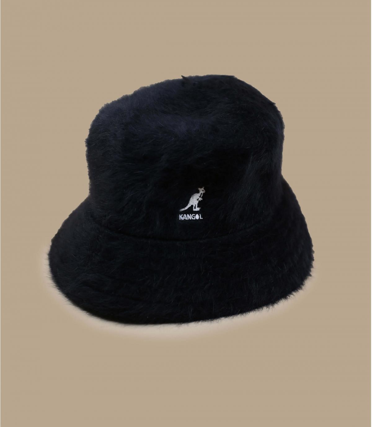 zwarte bontbob Kangol