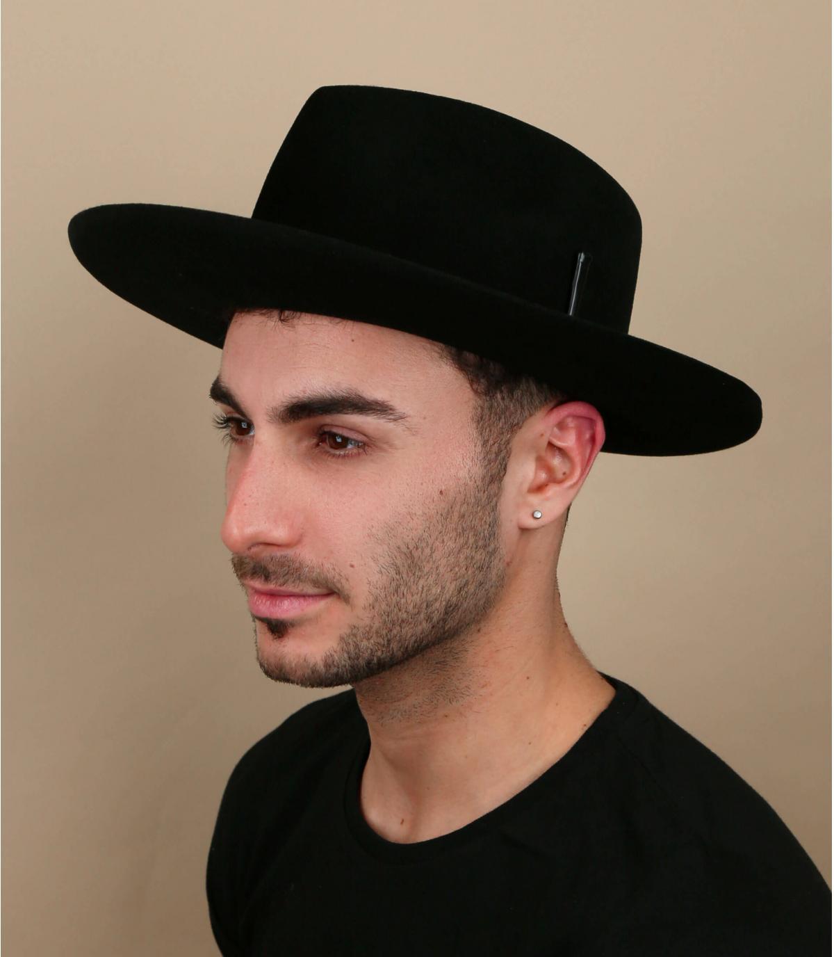 Bailey zwarte vilten hoed