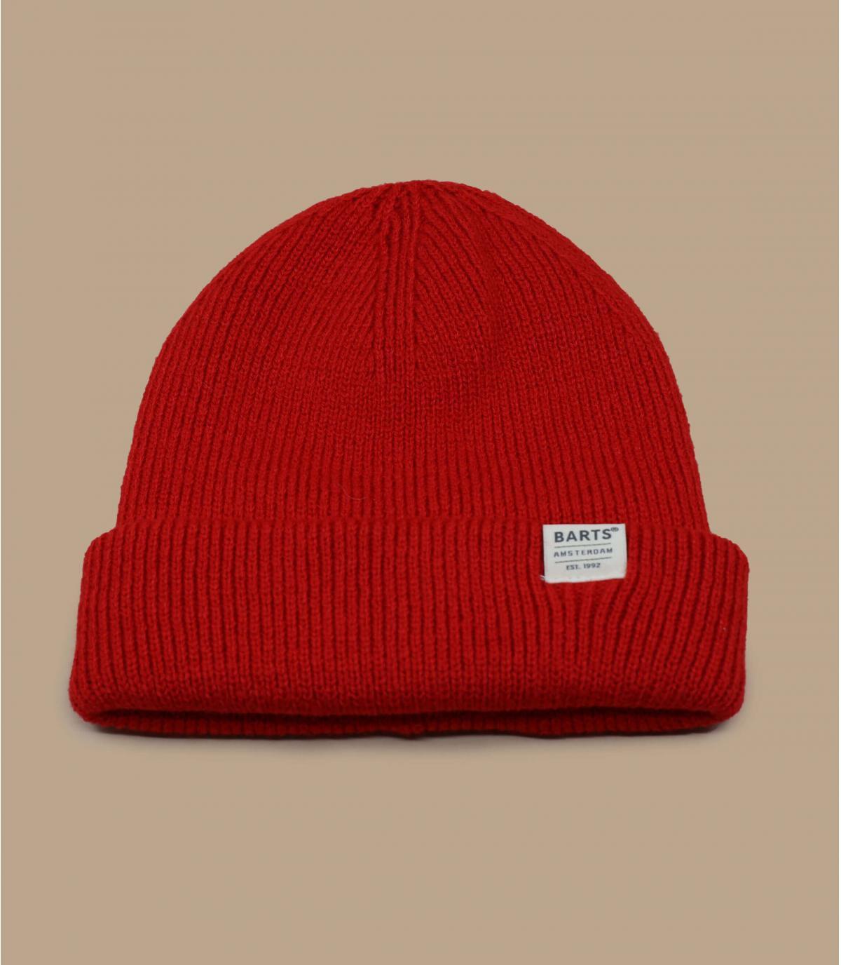 Barts rode docker hoed