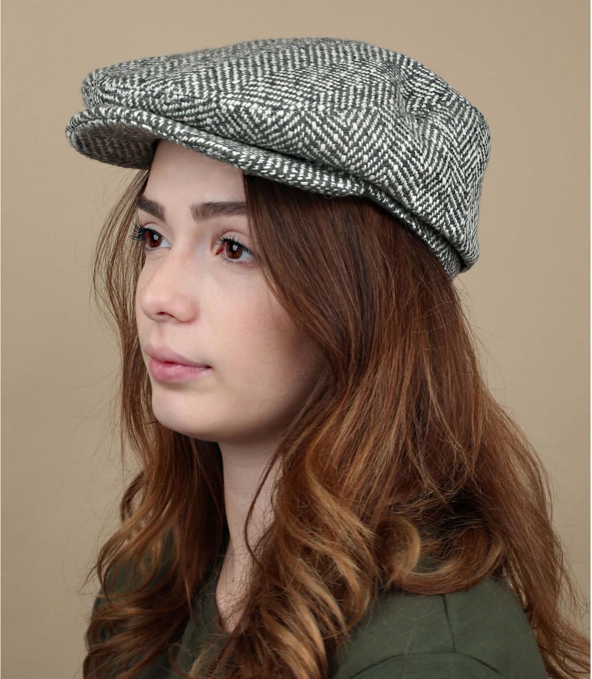 wol grijze baret