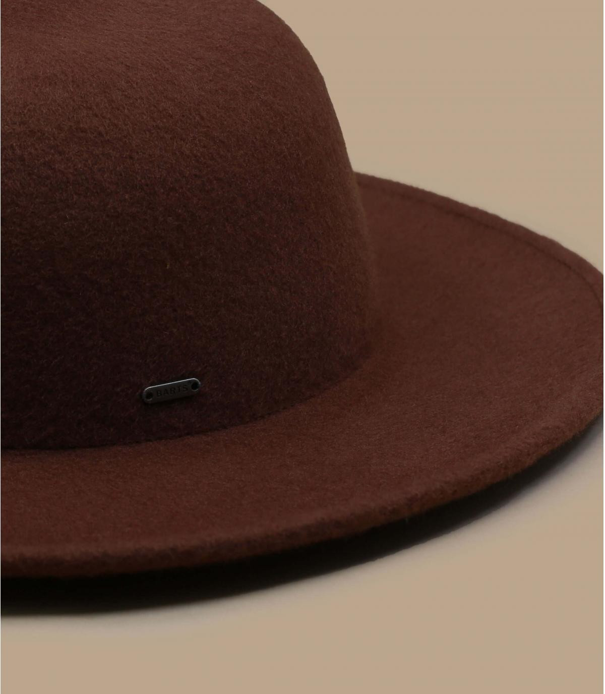 Details Noleta Hat brown - afbeeling 2