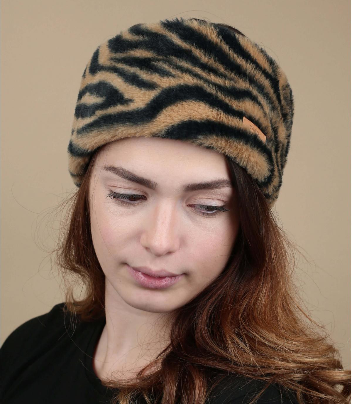tijgerbont hoofdband