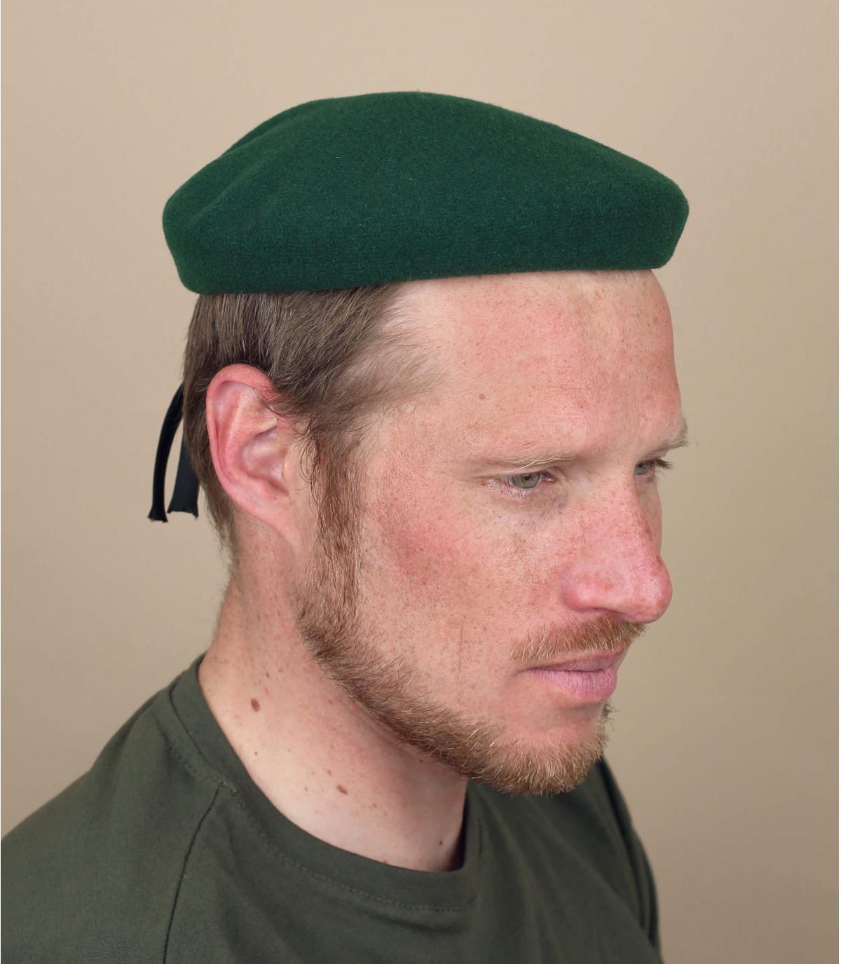 Groene legioen commando baret