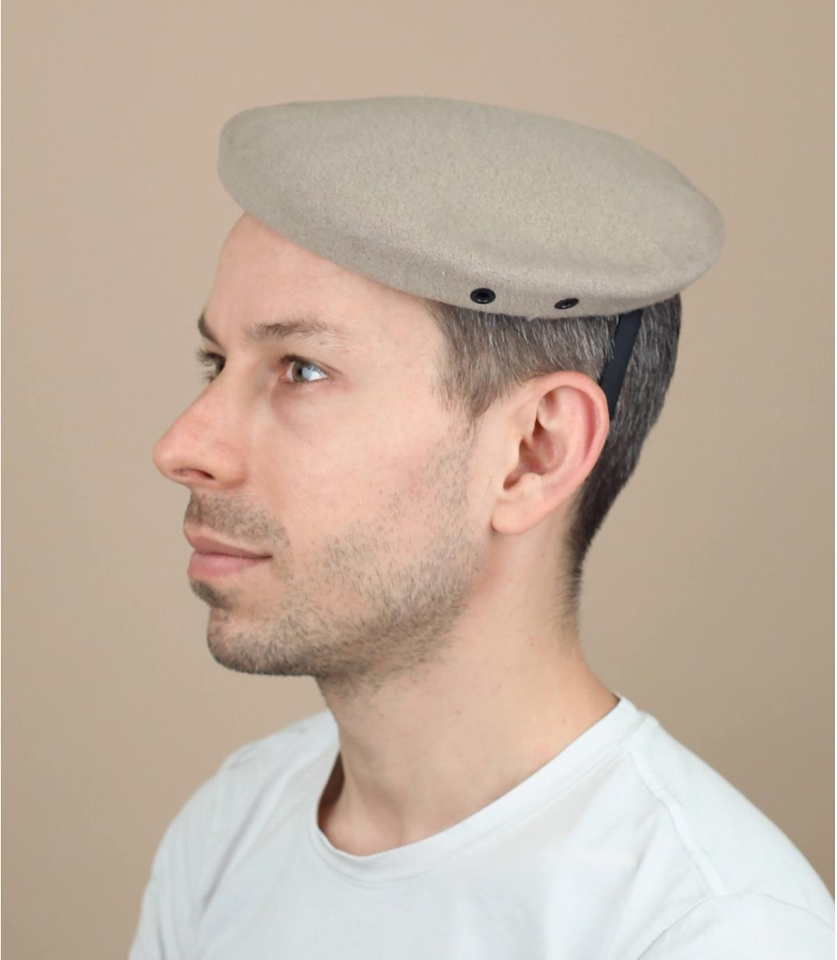 beige Air Service commando baret