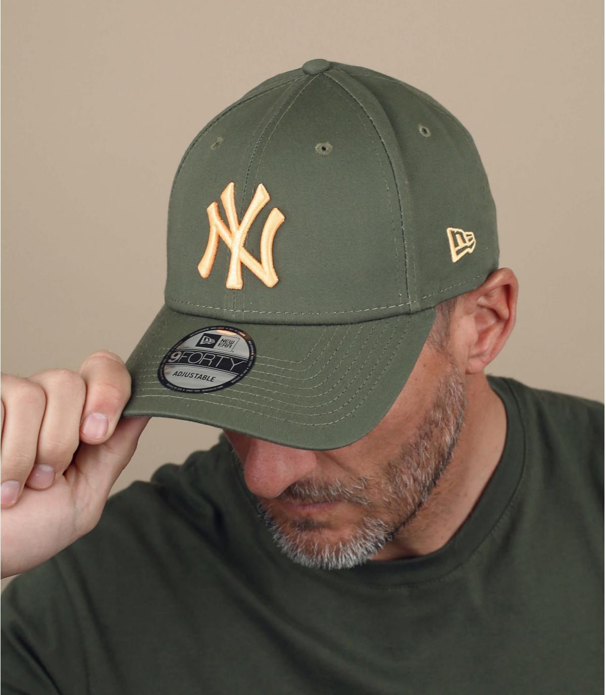 NY groen-gele pet