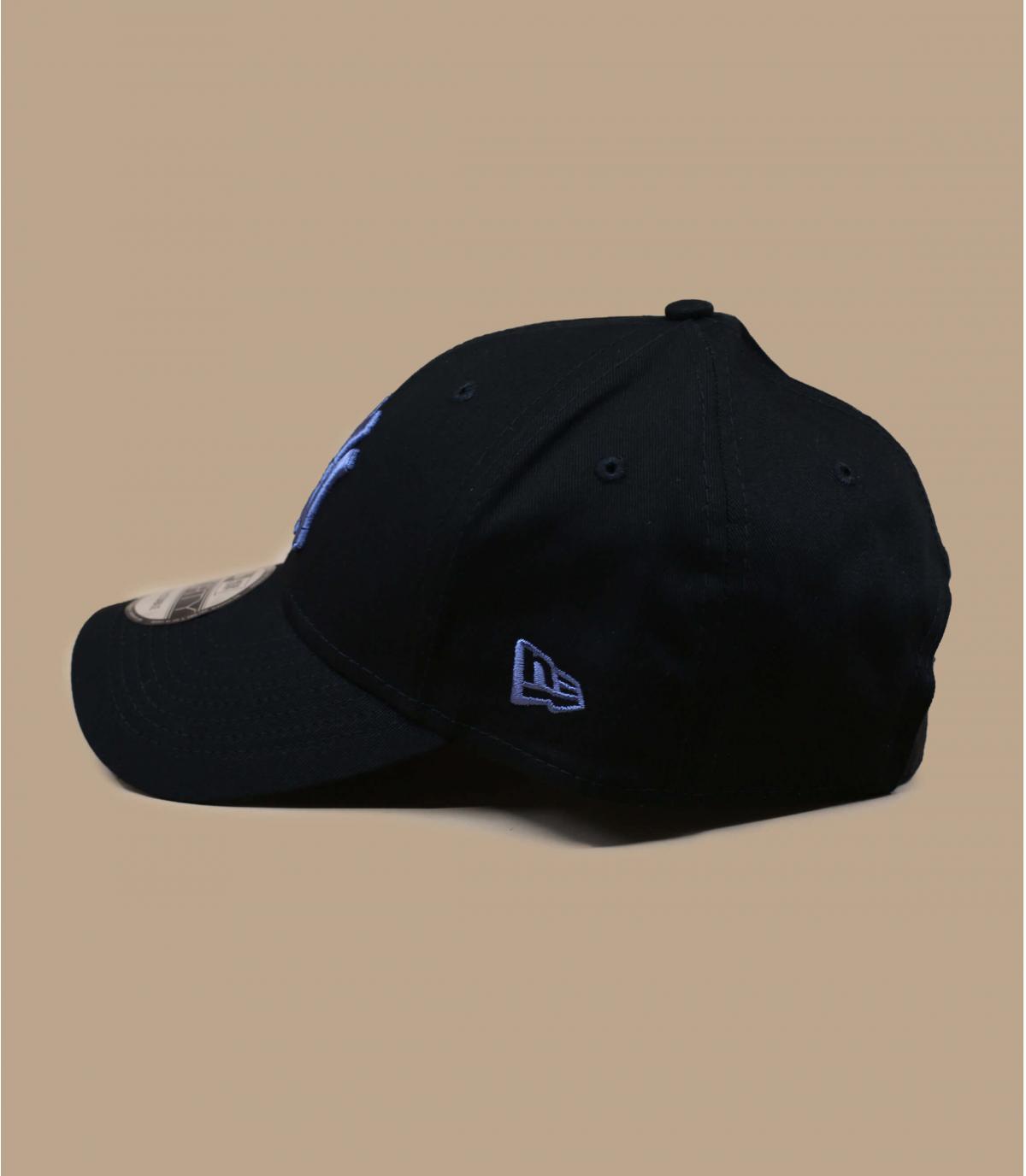 zwart blauwe NY cap