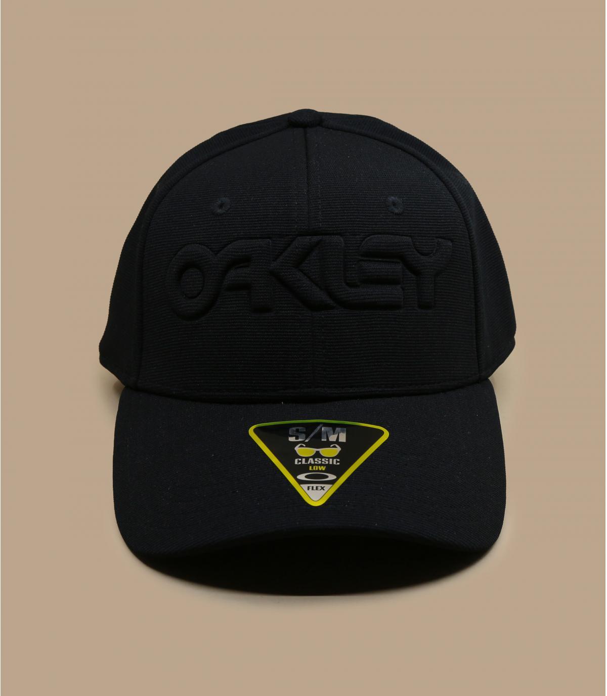 Oakley zwarte pet met logo