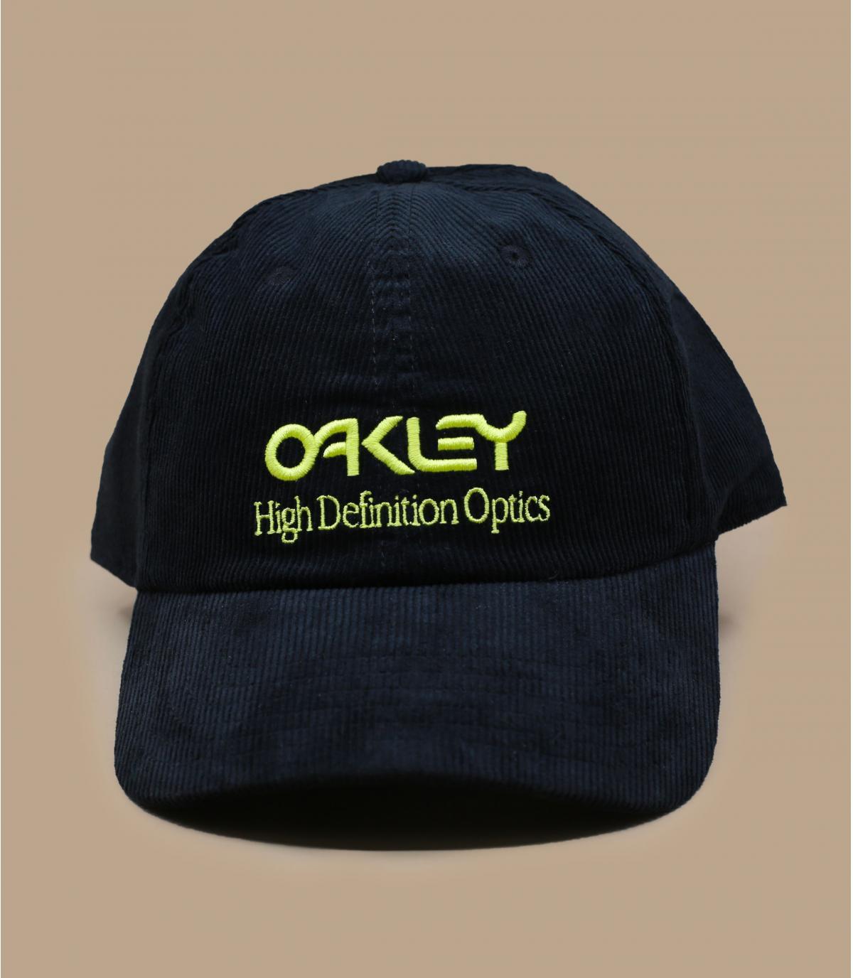 Oakley pet van zwart fluweel