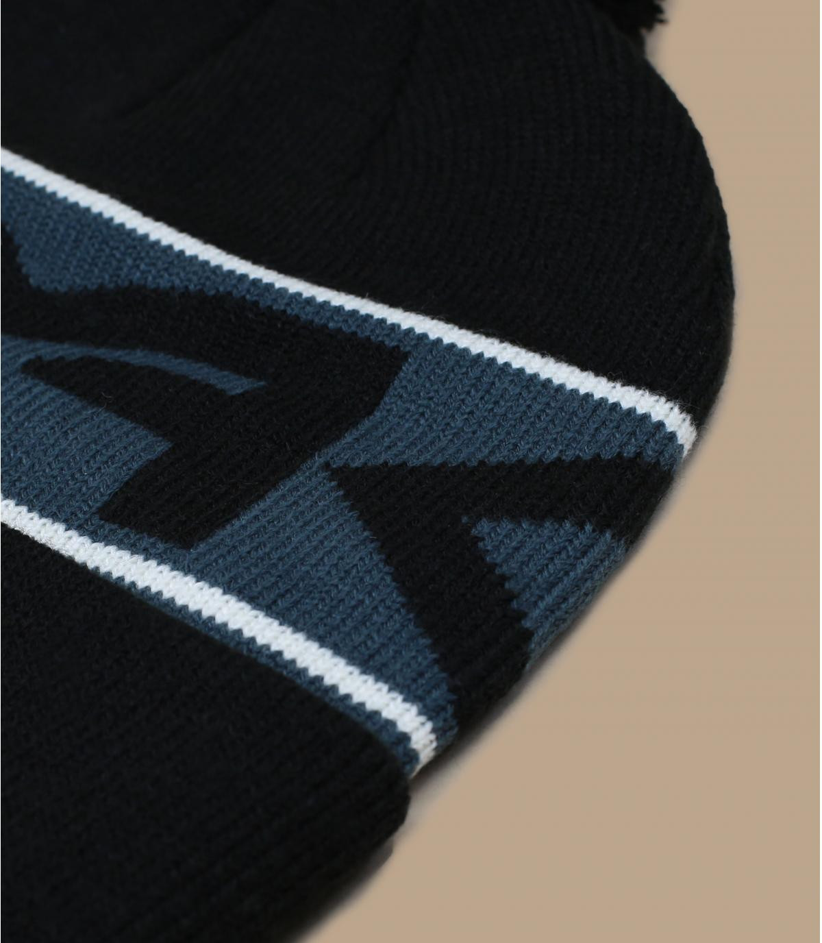 Details Factory Cuff Beanie blackout - afbeeling 3