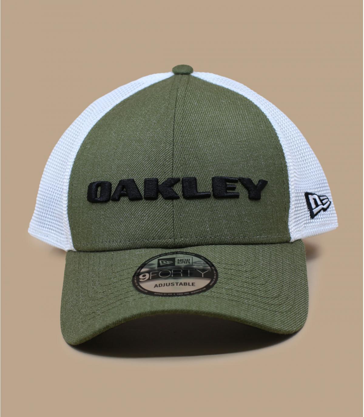 trucker Oakley groen wit