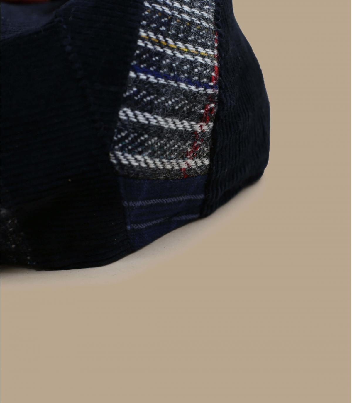 patchwork baret