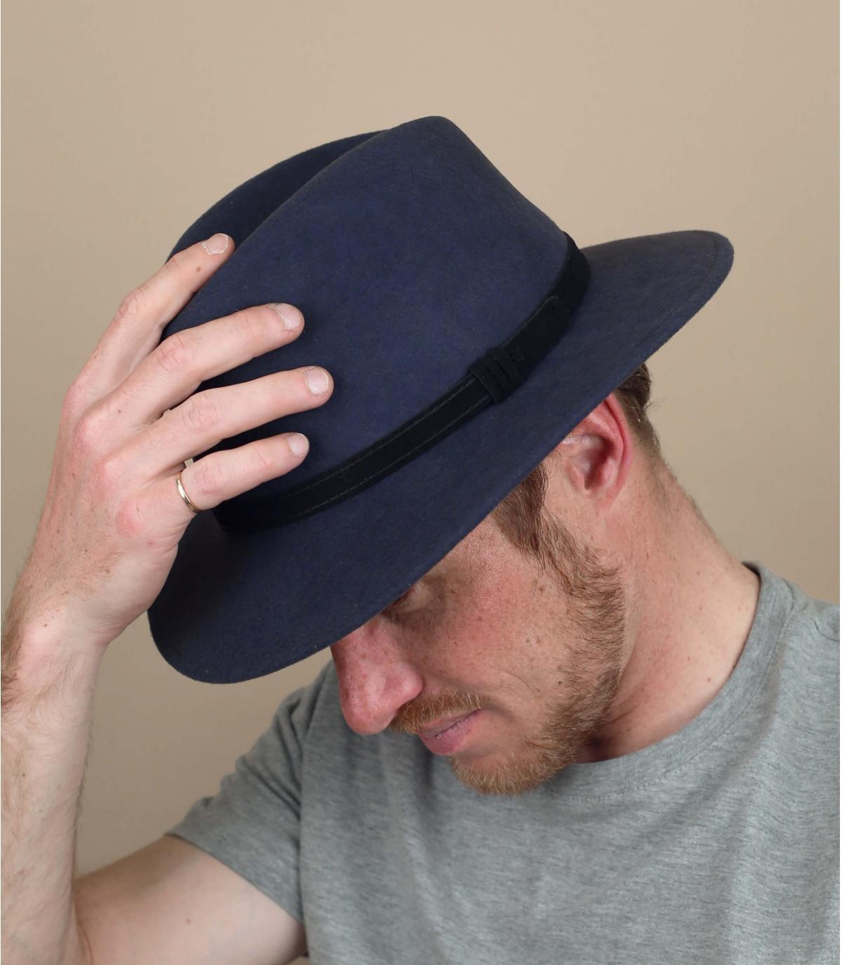 wol grijze hoed