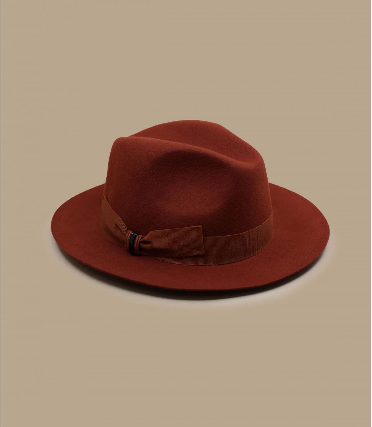 oranje vilten hoed