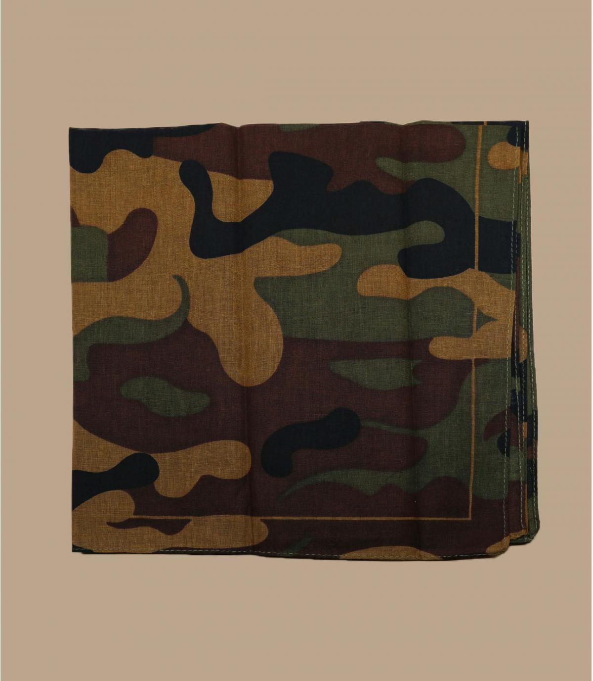 Bruine camo bandana