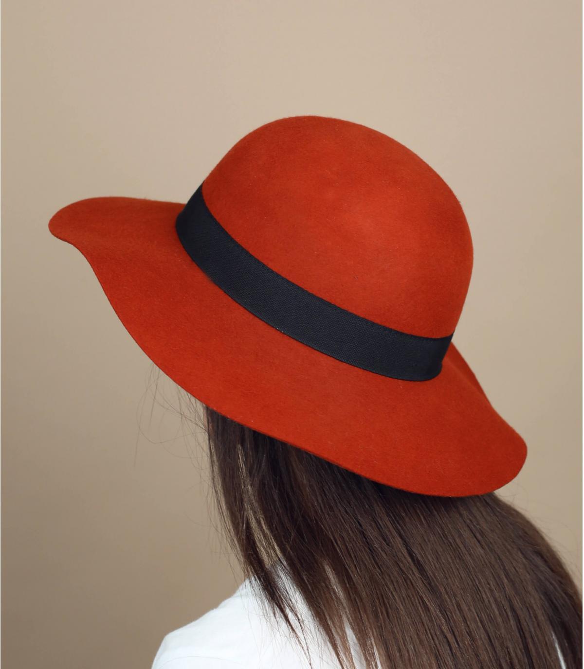steenrode vilten hoed