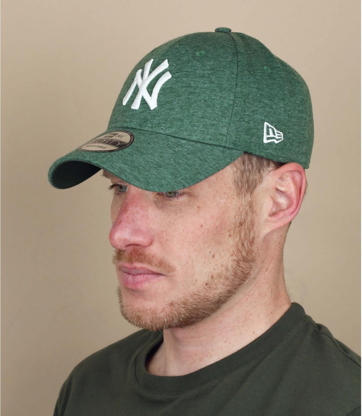 pet NY groen wit