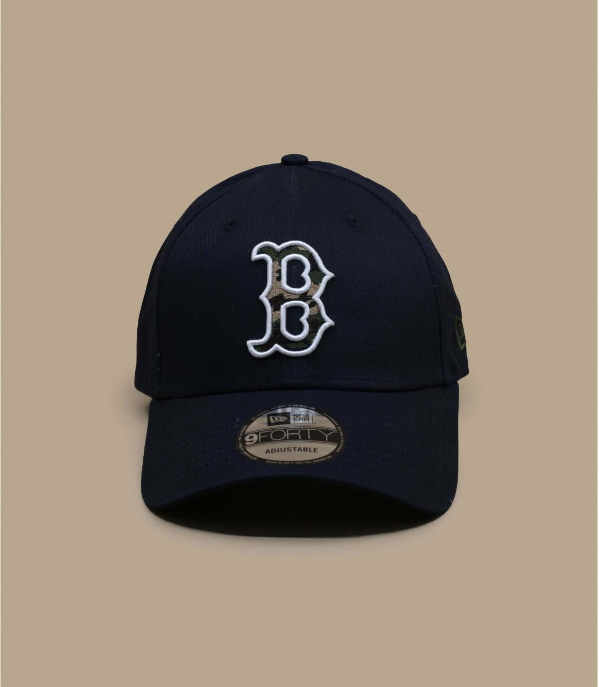 Boston pet camo blauw