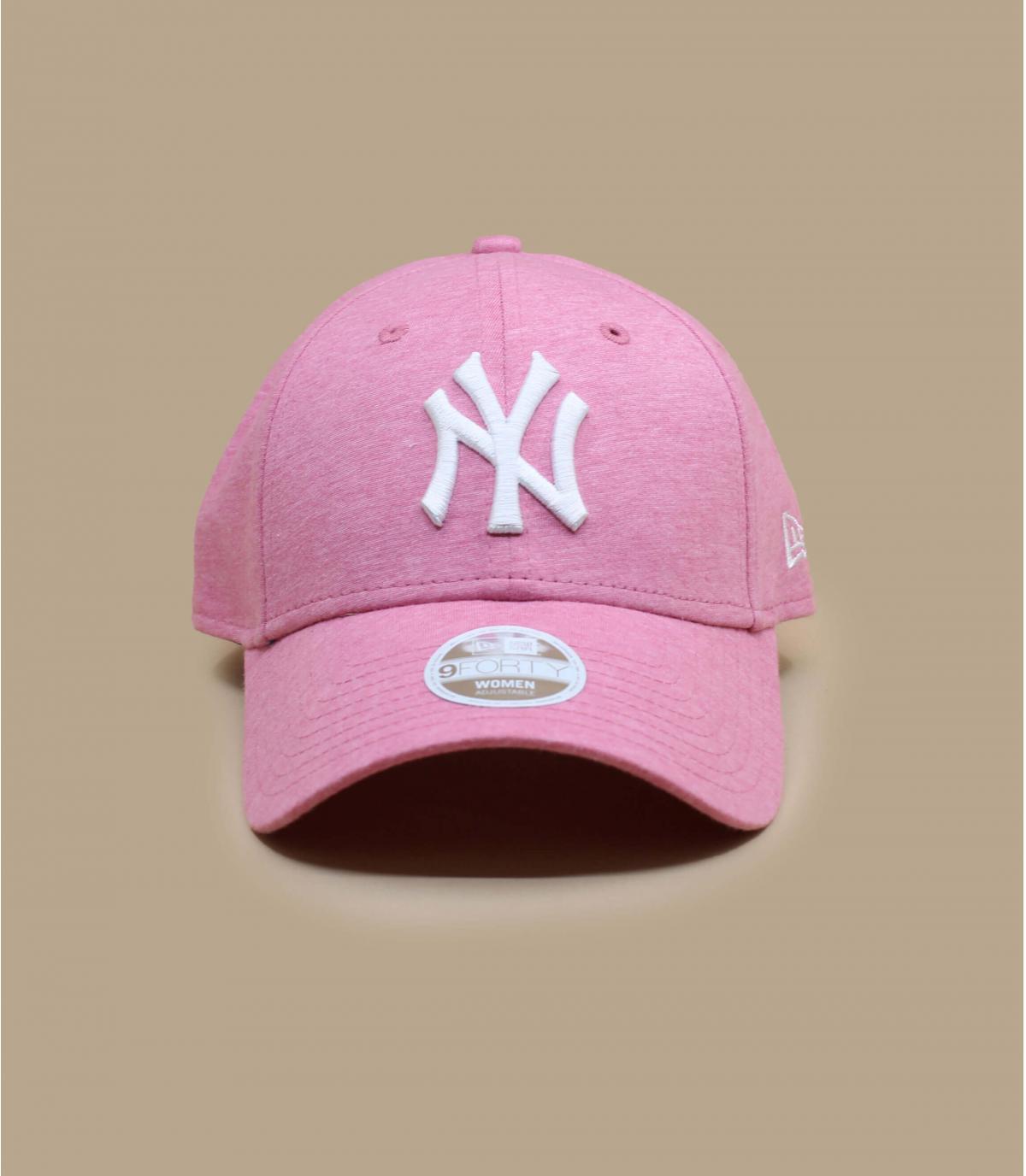 Details Wmn Jersey Ess 940 NY pink - afbeeling 2