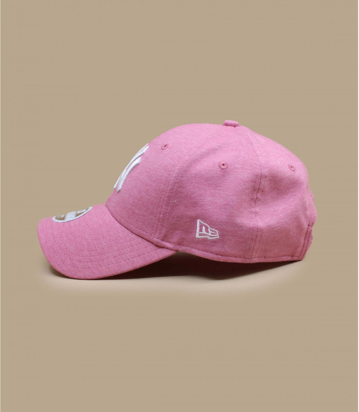 Details Wmn Jersey Ess 940 NY pink - afbeeling 3