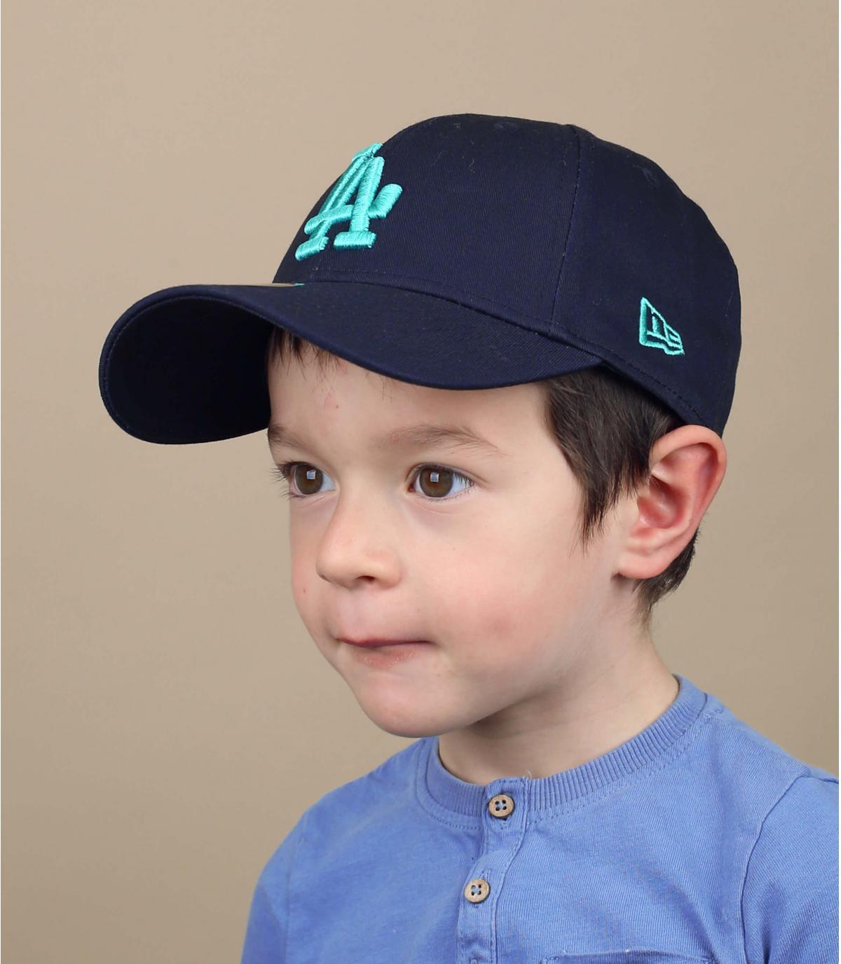 blauwe LA-pet voor kinderen