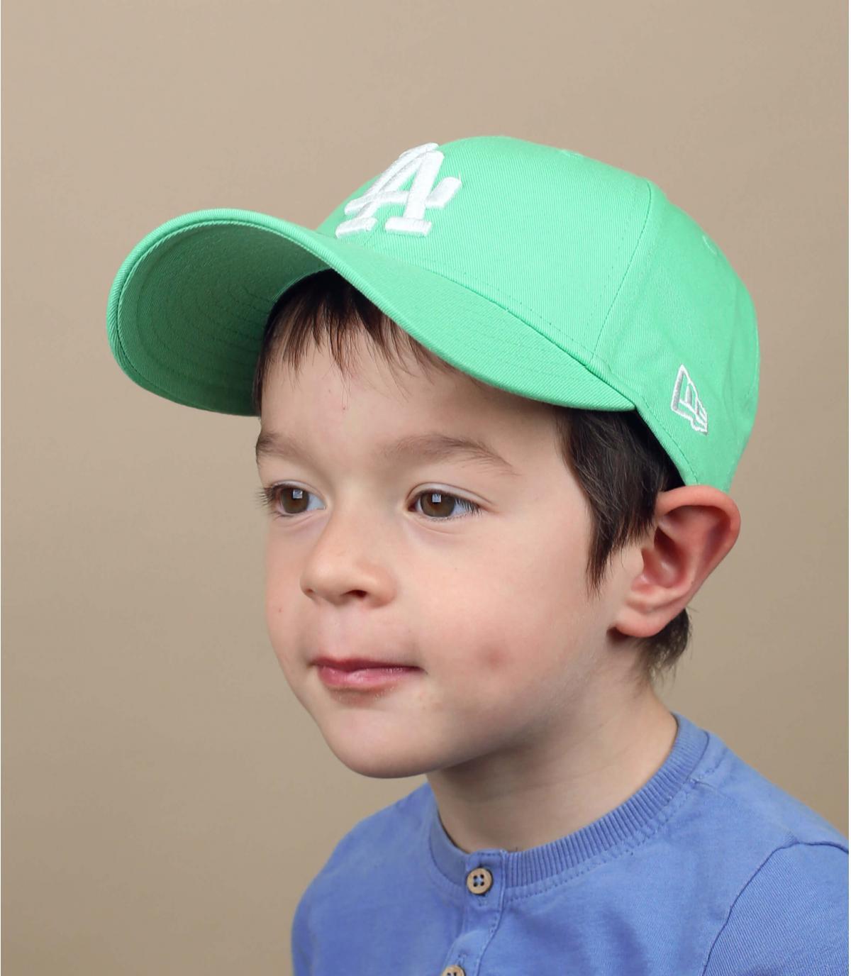 pet LA kind blauw groen