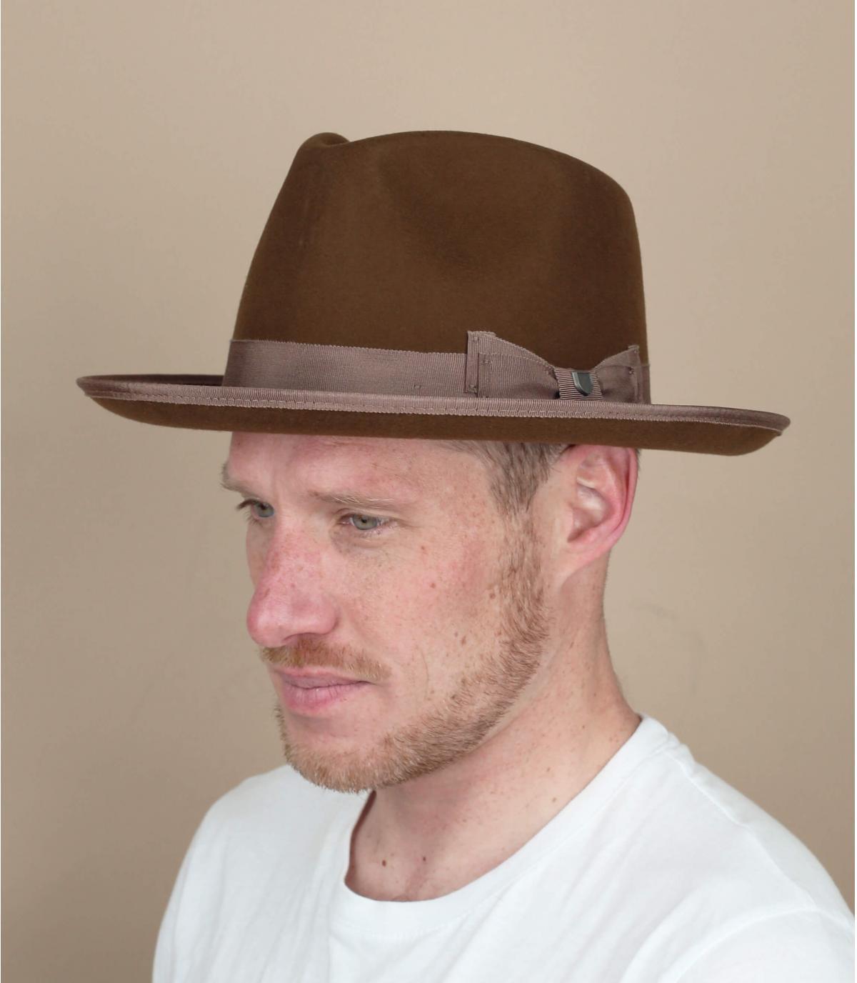 Bruine Brixton Norfolk hoed