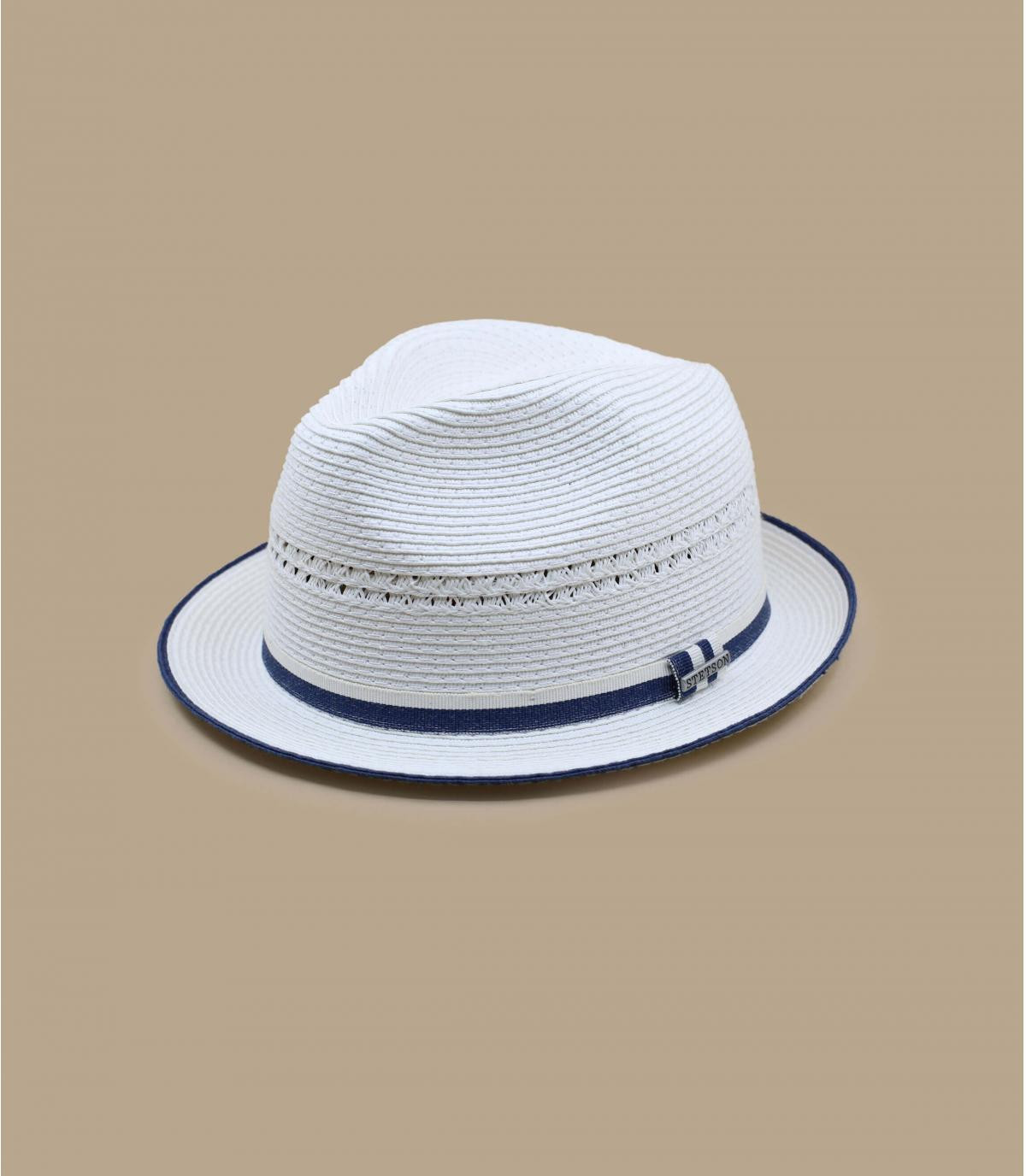 Details Trilby Toyo white - afbeeling 2