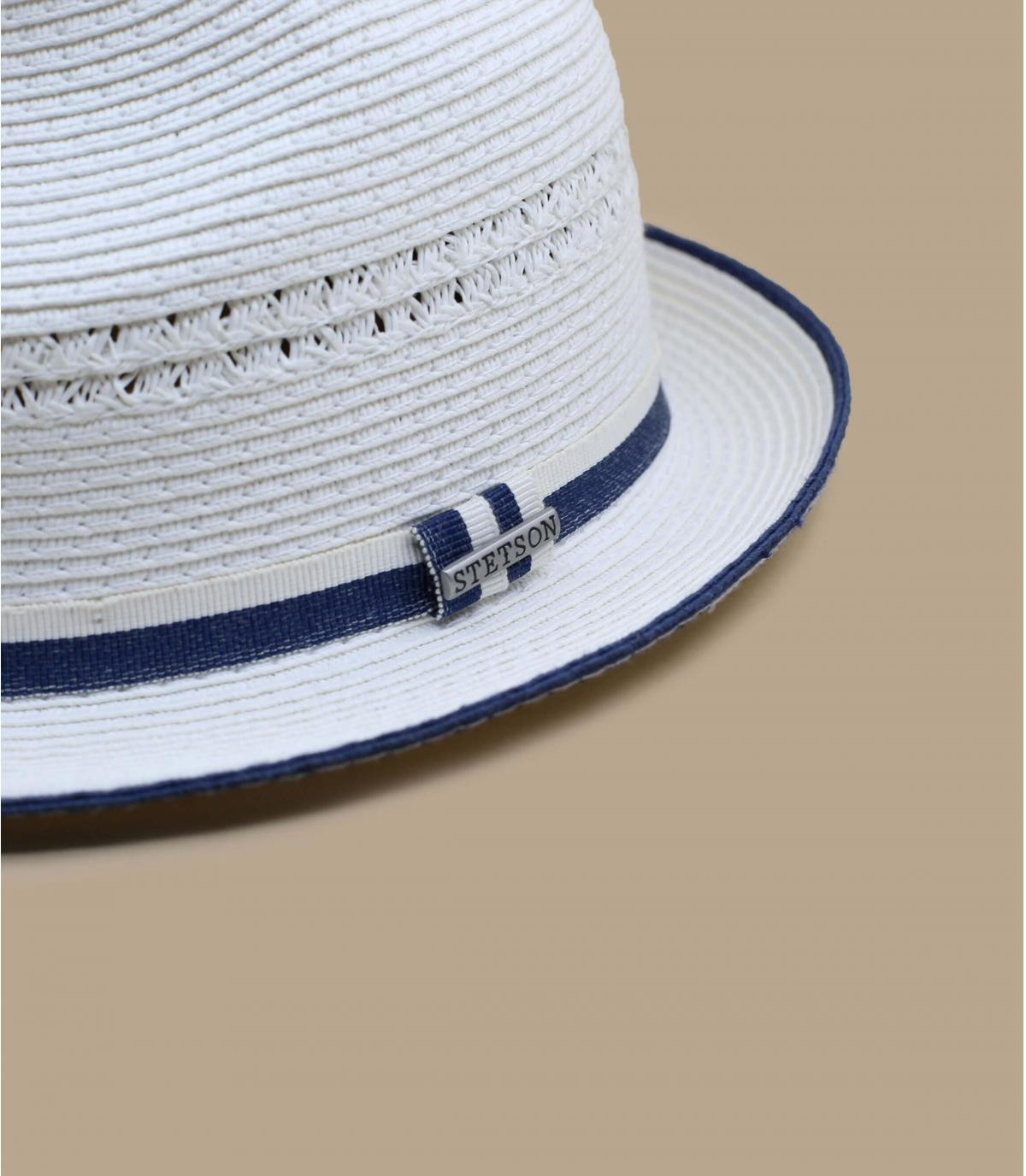 Details Trilby Toyo white - afbeeling 3