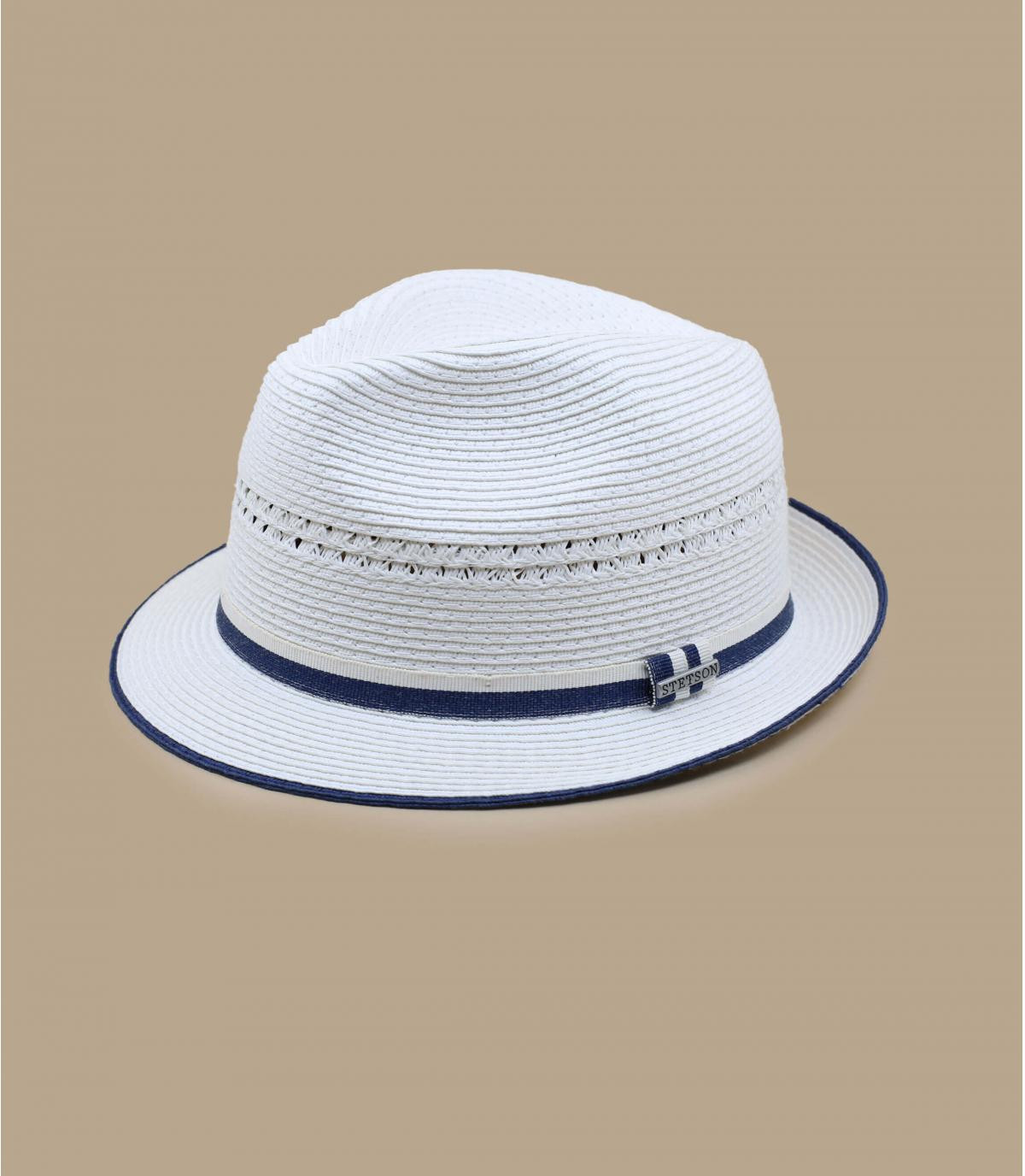 Details Trilby Toyo white - afbeeling 4