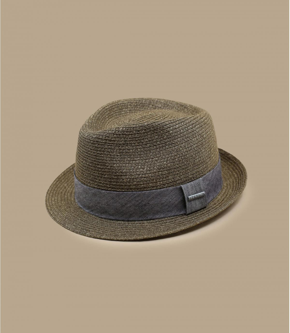 Details Trilby Toyo brown - afbeeling 2