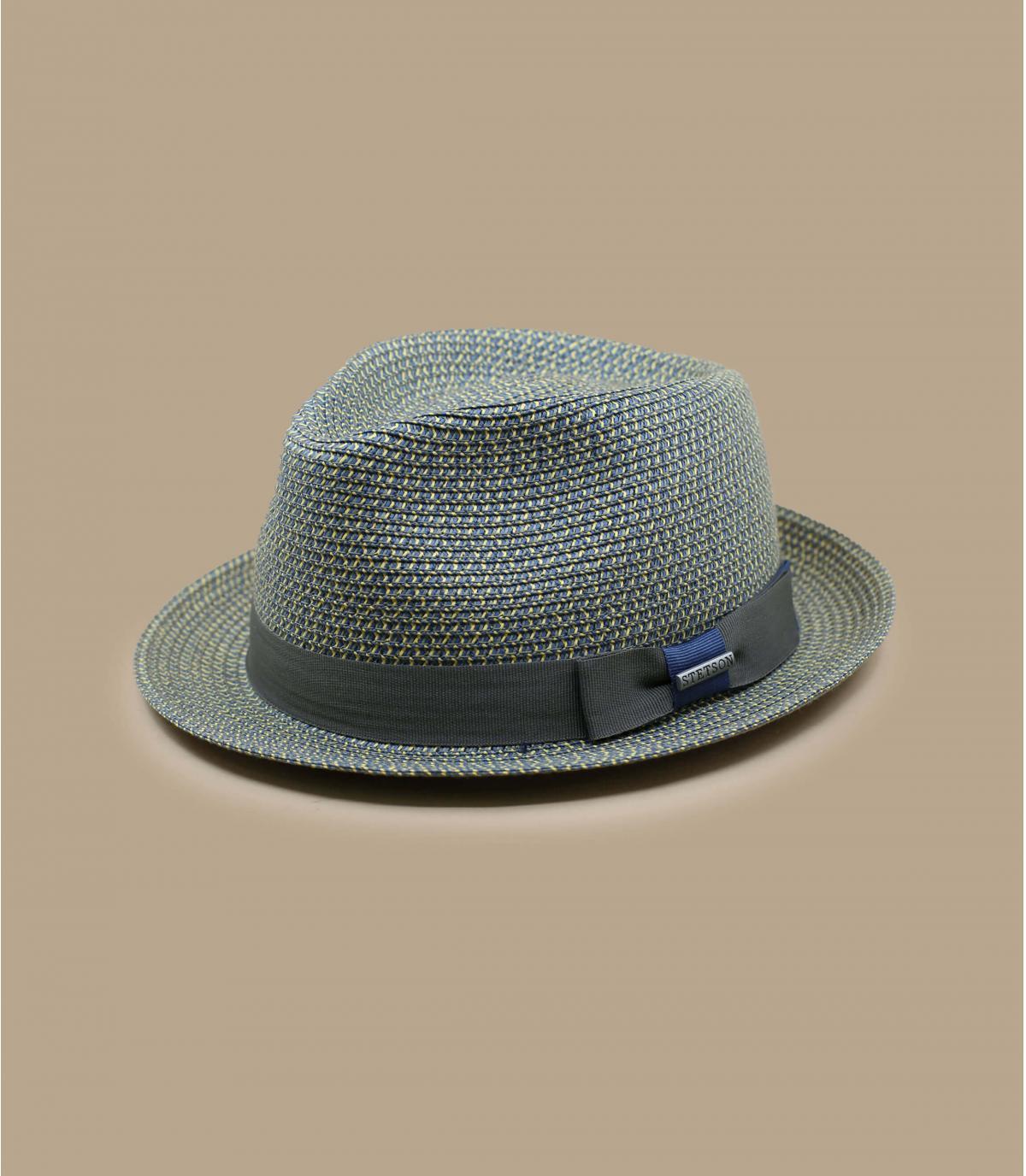 Details Trilby Toyo blue grey - afbeeling 2