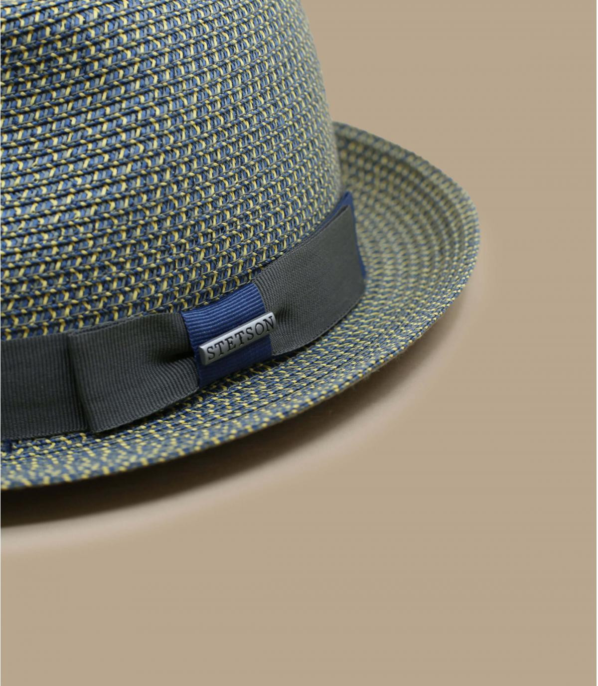 Details Trilby Toyo blue grey - afbeeling 3