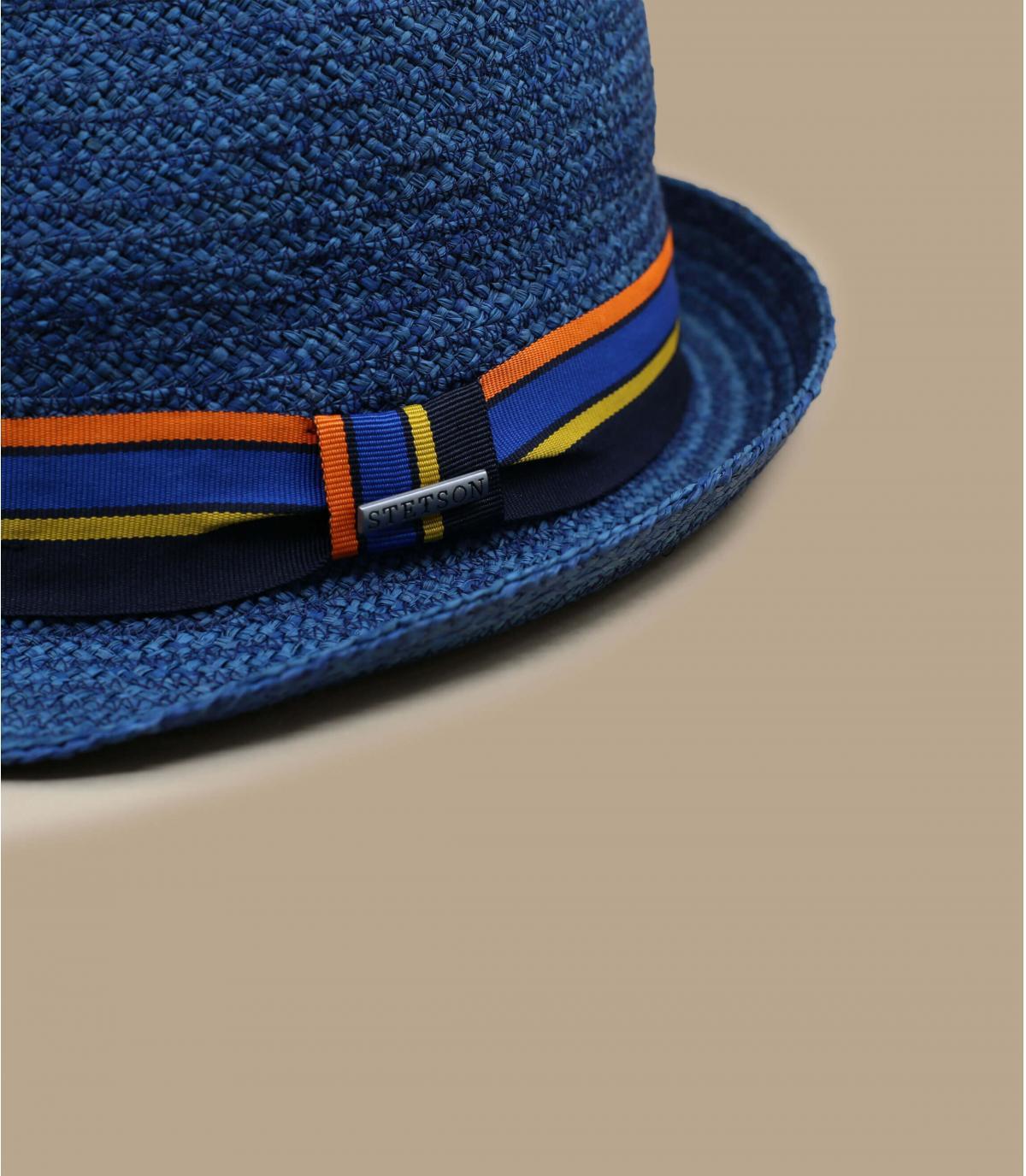 Details Trilby Raffia blue - afbeeling 3
